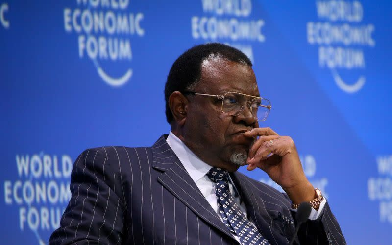 Incumbent Geingob wins Namibia presidential election with 56.3% of the vote