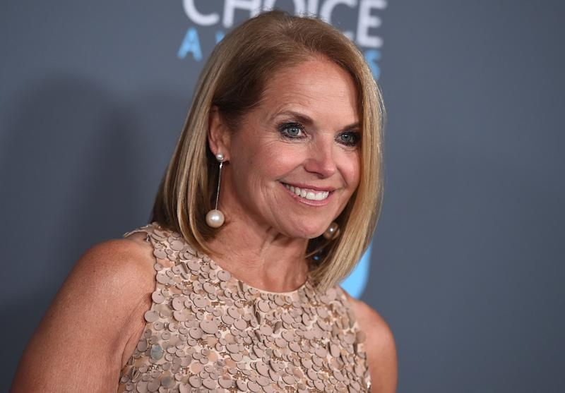 "Katie Couric is writing a memoir, one she is counting on to live up to its title: ""Unexpected."""