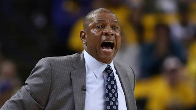 The Los Angeles Clippers want to build on their historic comeback win over the Golden State Warriors and clinch the series, says Doc Rivers.