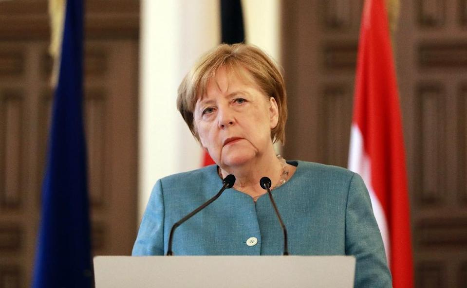 Angela Merkel has faced a strong domestic backlash after allowing more than one million asylum seekers into Germany since 2015 (AFP Photo/Anwar AMRO)