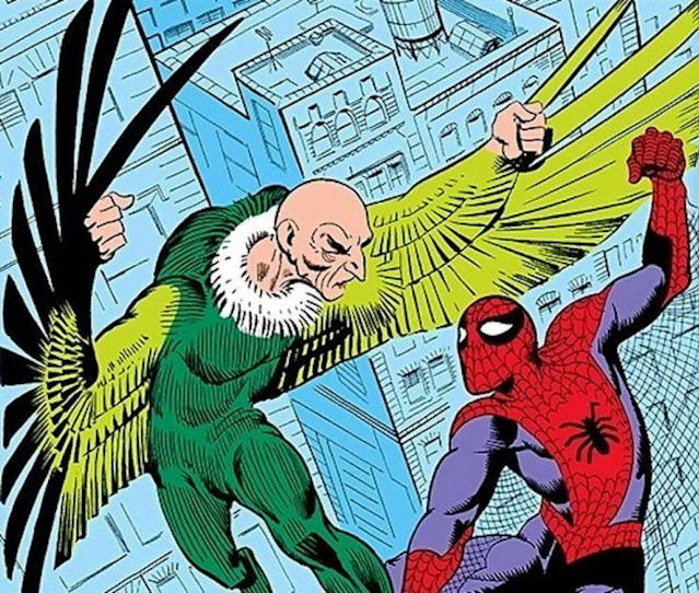 The Vulture as he appeared in the 1960s. (Image: Marvel Comics)
