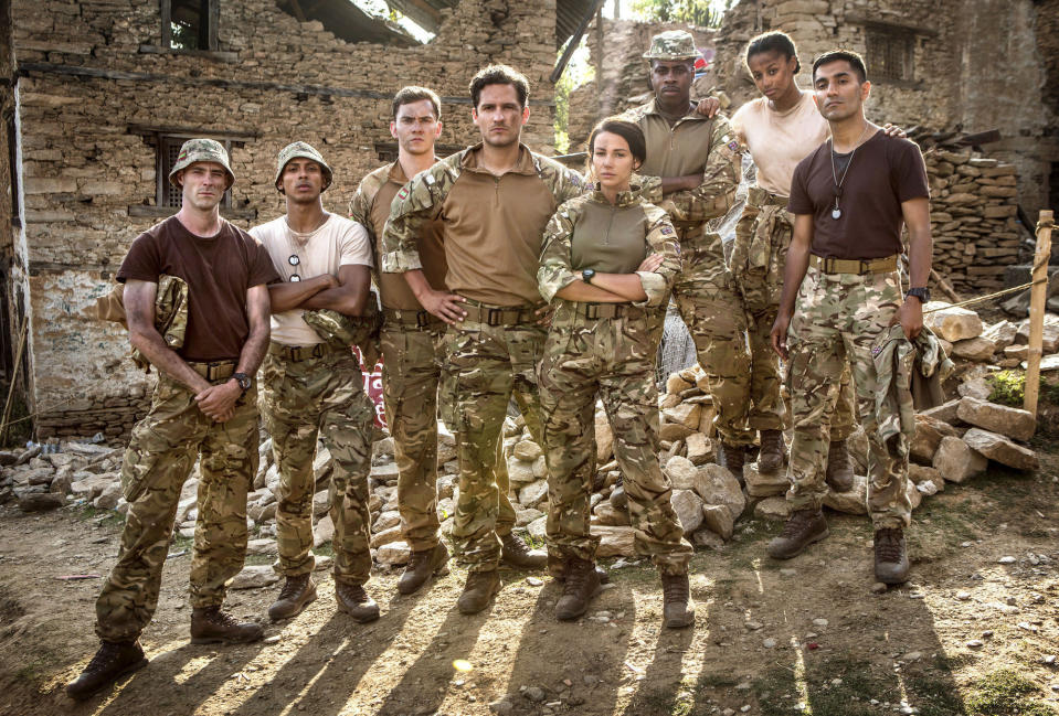 The cast of Our Girl season three