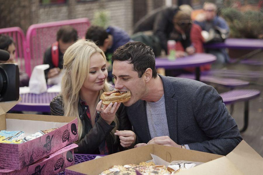 "<p>Get ready, because this one's super weird: No one eats all that fancy food the show provides on dates. It literally just sits there. ""Before we went on the date, the producers sent food to our hotel rooms,"" Sean Lowe <a href=""https://www.bustle.com/articles/60550-15-behind-the-scenes-bachelor-secrets-from-sean-lowes-new-book-for-the-right-reasons"" rel=""nofollow noopener"" target=""_blank"" data-ylk=""slk:confirmed"" class=""link rapid-noclick-resp"">confirmed</a> in his book, writing, ""We ate in our rooms and then went out for dinner, where we would be given beautiful food arranged nicely on the plate. This was just for show.""</p>"