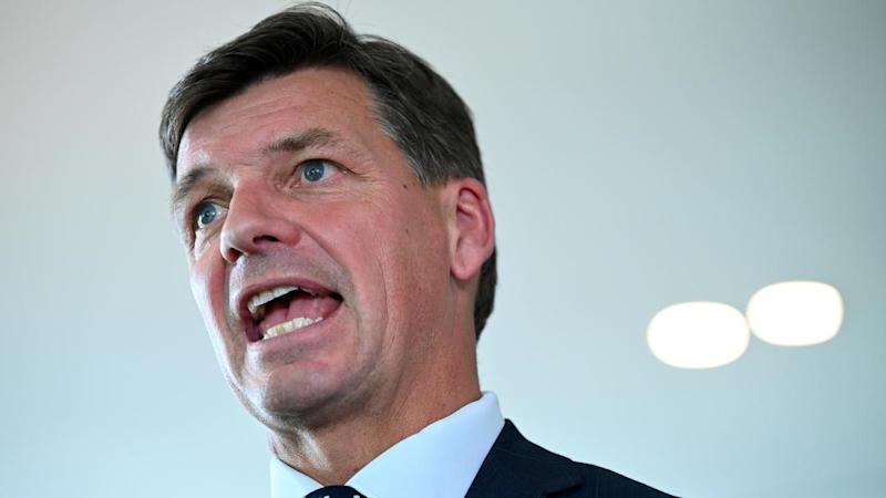 Energy Minister Angus Taylor is pushing for greater energy reliability to prevent power outages