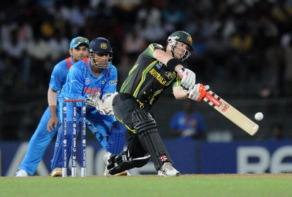 COLOMBO, SRI LANKA - SEPTEMBER 28:  David Warner of Australia bats during the super eight match between Australia and India held at R. Premadasa Stadium on September 28, 2012 in Colombo, Sri Lanka.  (Photo by Pal Pillai/Getty Images)