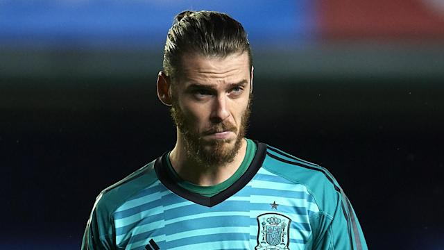 Spain assistant coach Carlos Marchena backed goalkeeper David de Gea to bounce back.