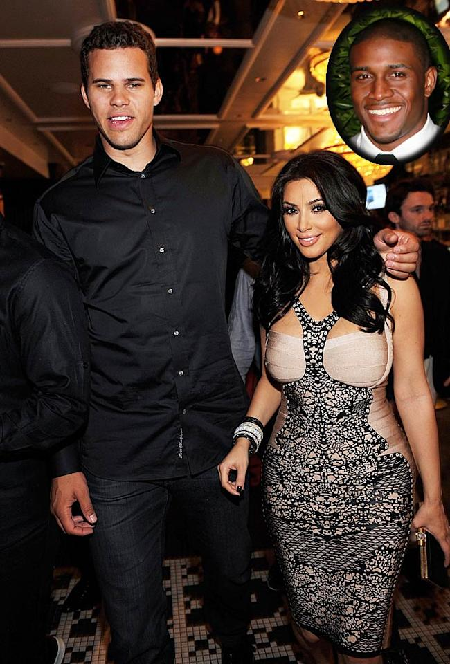 """According to MediaTakeOut, Kim Kardashian is seeing her ex-boyfriend Ray J behind fiance Kris Humphries' back. The site even presents """"surveillance video [that] shows Kim Kardashian secretly meeting up with Ray J at his crib!"""" In the footage, one clearly sees Kardashian parking in Ray J's garage. For what's really going down, and where that leaves her wedding plans, see what a Kardashian insider admits to <a href=""""http://www.gossipcop.com/kim-kardashian-cheating-ray-j-video-2011-mediatakeout-kris-humphries-surveillance-footage/"""" target=""""new"""">Gossip Cop</a>. Denise Truscello/<a href=""""http://www.wireimage.com"""" target=""""new"""">WireImage.com</a>, David Livingston/<a href=""""http://www.gettyimages.com/"""" target=""""new"""">GettyImages.com</a>"""