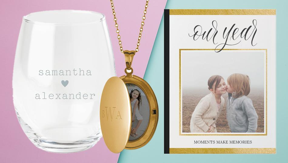 Shutterfly has the most precious presents that you can personalize with photos, names and monograms. (Photo: Shutterfly)