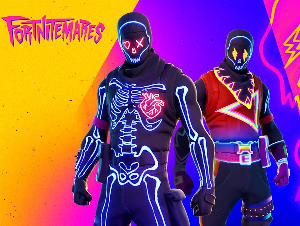 Two of the character skins which coming to the new Fortnitemares eventEpic Games