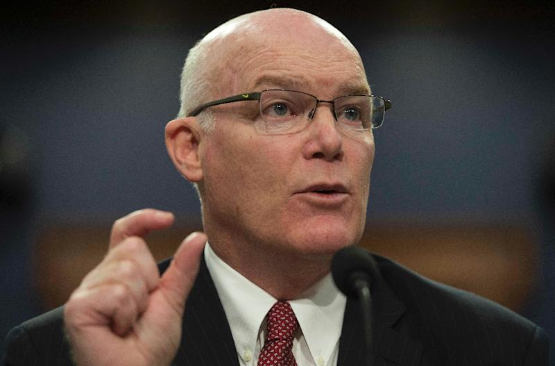 Director of the United States Secret Service Joe Clancy testifies before the House Appropriations Committee on Capitol Hill in Washington, DC, March 17, 2015 (AFP Photo/Jim Watson)
