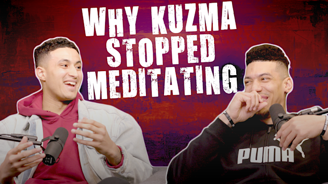 Los Angeles Lakers forward Kyle Kuzma was a fan of meditating until an unfortunate incident.