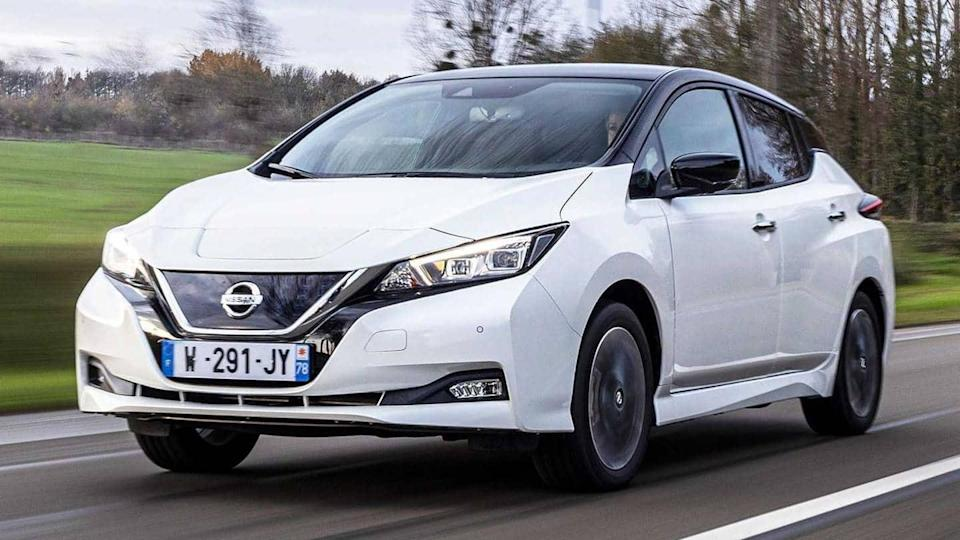 Nissan Leaf10, with cosmetic updates and new features, unveiled