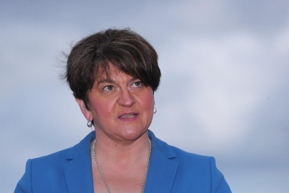 Arlene Foster was ousted after an internal heave by party colleagues unhappy with her leadershipPA Wire