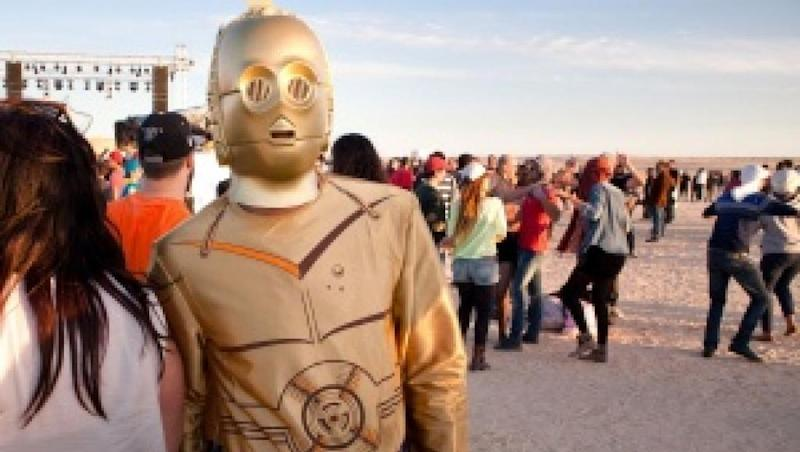 Star Wars theme for this year's electronic music festival in Tunisia's iconic desert