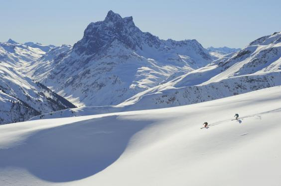 St Anton has wild partying and challenging terrain (Josef Mallaun)
