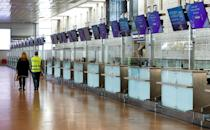 Airports are empty as borders are being clamped shut with countries racing to get a grip on mushrooming coronavirus infections