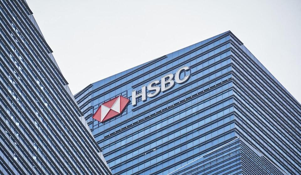 HSBC shares rose on anticipation of a resumption in dividend payments. Photo: Bloomberg