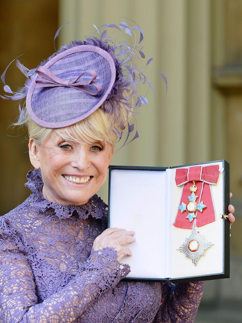 Barbara was made a Dame in 2016 (Photo: PA)