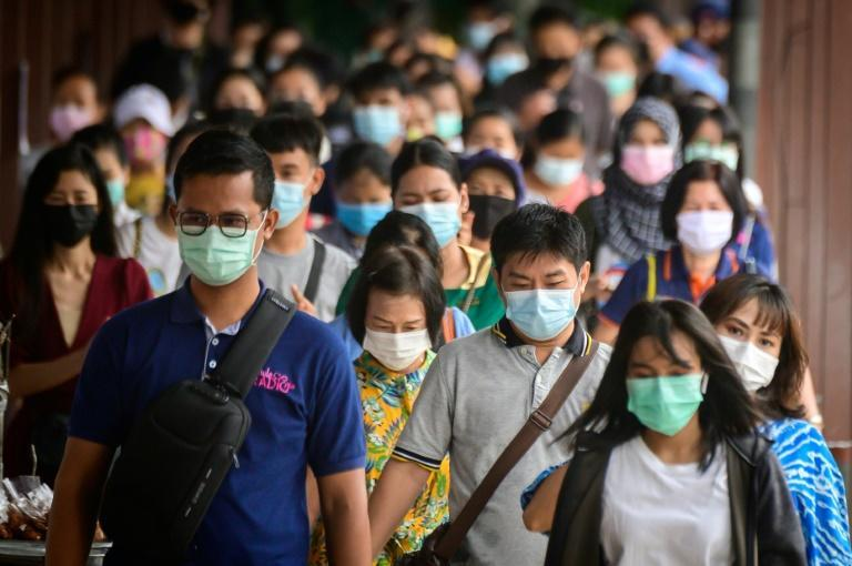 Wearing masks is now compulsory in public spaces in Bangkok and the 47 other provinces of Thailand
