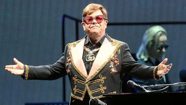 PHOTO: Elton John performs at HBF Park on Nov. 30, 2019 in Perth, Australia. (WireImage/Getty Images, FILE)