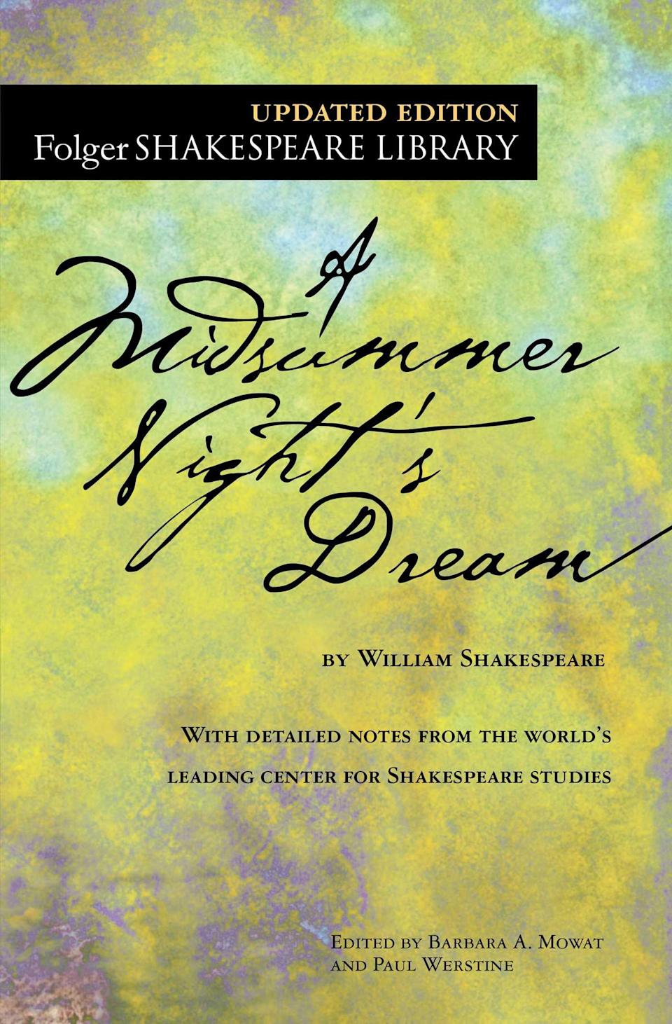"""<p>""""My comfort book is literally falling apart at this point, but it's the Signet Classics edition of <span><strong>A Midsummer Night's Dream</strong></span> ($17) that I used in college! Even though some of the pages are falling out, it has all my notes from class still scribbled in the margins, so it's still the only one I use. I can't read it without getting up and acting out the parts, and I always find something fresh and new with each reread."""" - Madeleine Fournier, associate social content producer</p>"""