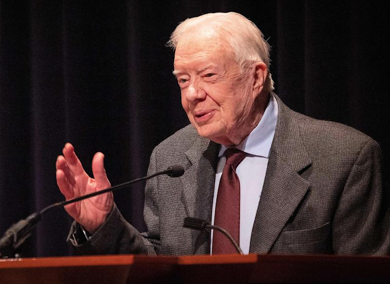 Jimmy Carter Gets Stitches Due to a Fall at His Georgia Home Days After His 95th Birthday