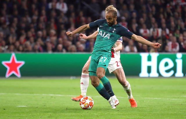 Tottenham ended Ajax's Champions League run in 2019