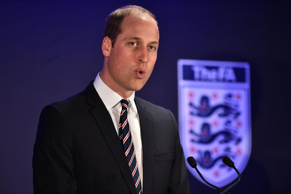 <p>The Duke of Cambridge</p> (PA)