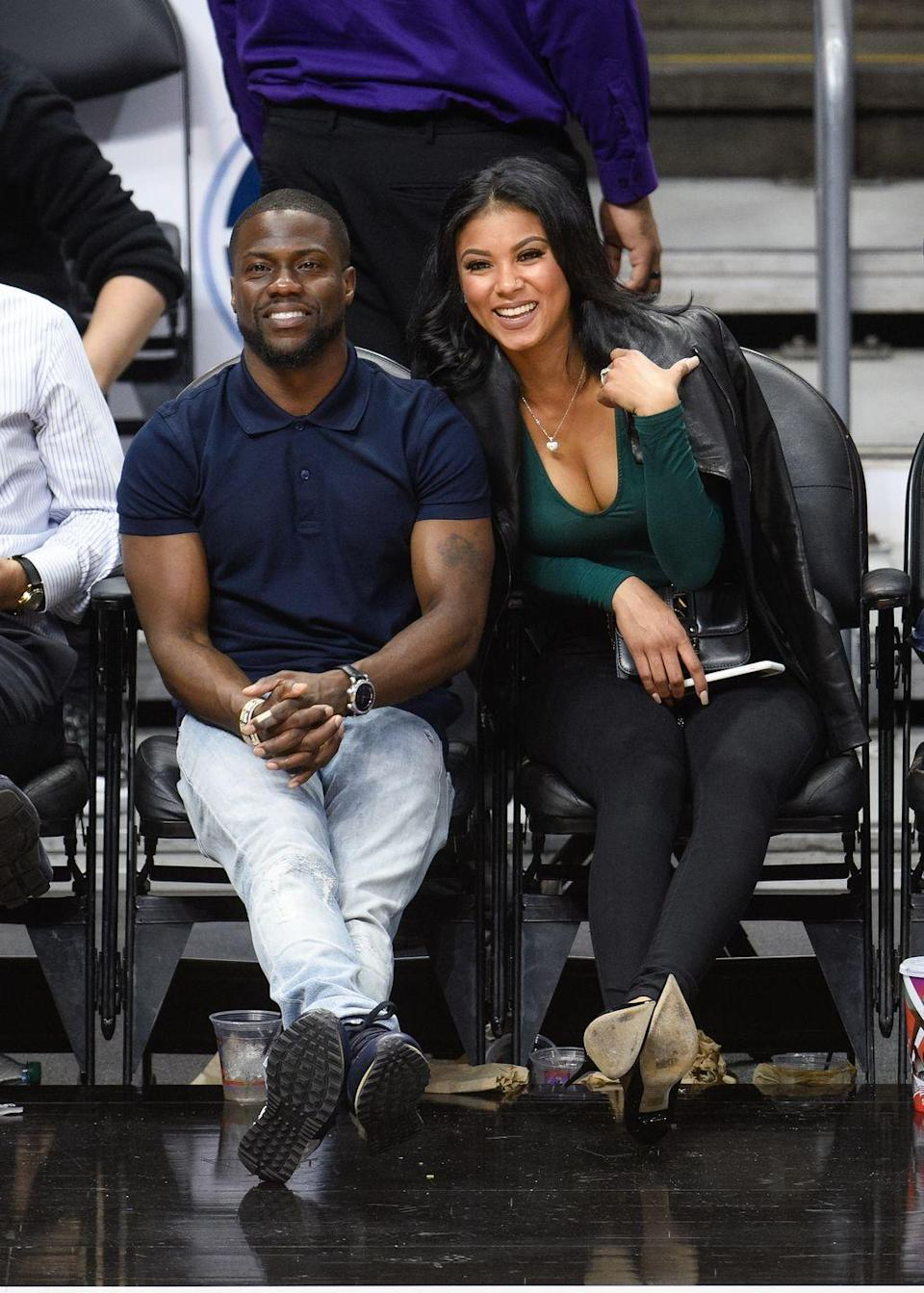 """<p>Because the couple's legs are crossed with ease—no tension in their knees—Donaldson can see how comfortable Kevin and Eniko are with each other. Also, she's getting hints that Eniko trusts Kevin and knows she can rely on him. """"Eniko is leaning on Kevin to be closer to him,"""" Donaldson says. """"This may indicate that she often relies on him for support and strength.""""<br></p>"""