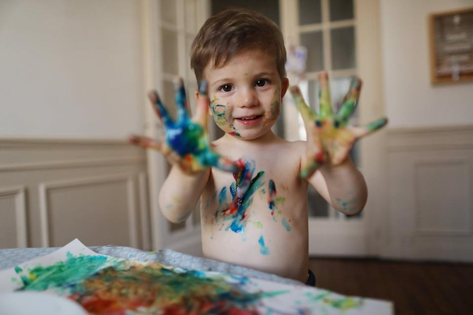 "<p>The second philosophy we utilize is that play is spontaneous and flexible. What we introduce as <a href=""https://www.popsugar.com/family/easy-learning-activities-for-toddlers-to-do-at-home-47480425"" class=""link rapid-noclick-resp"" rel=""nofollow noopener"" target=""_blank"" data-ylk=""slk:one activity may turn into three"">one activity may turn into three</a> or more unique alternative activities. Instead of confining our child to only playing a certain way, we adapt and go with the flow, allowing her to take the lead and show us what she is wanting to master next. This can be trickier than expected, because as parents, it can feel very tempting and almost automatic to want to step in and show our child how to do something. But I urge you to practice pausing and see where your child goes with the activity first. Doing so will give you more clues as to what they're interested in naturally, which can make playtime a lot more enjoyable for everyone participating - not to mention it's way less work for you.</p> <p>Engaging them in this way also activates their brain more, challenges them, and pushes them to push themselves. As they explore, play, and create, they will inevitably wear themselves out both physically and mentally. In other words, this will most likely lead to a good nap, solid quiet time, or a more peaceful snooze later on.</p> <p>Related: <a href=""https://www.popsugar.com/family/Practicing-Montessori-Home-37019549?utm_medium=partner_feed&utm_source=news360&utm_campaign=related%20link"" rel=""nofollow noopener"" target=""_blank"" data-ylk=""slk:Bringing Montessori Home: How to Implement the Best Practices at Home"" class=""link rapid-noclick-resp"">Bringing Montessori Home: How to Implement the Best Practices at Home</a></p>"