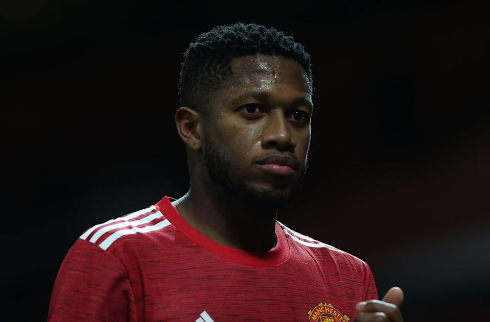 Manchester United midfielder Fred (Manchester United via Getty Images)