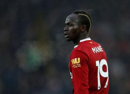 Soccer Football - Premier League - Liverpool vs Everton - Anfield, Liverpool, Britain - December 10, 2017 Liverpool's Sadio Mane Action Images via Reuters/Lee Smith/Files