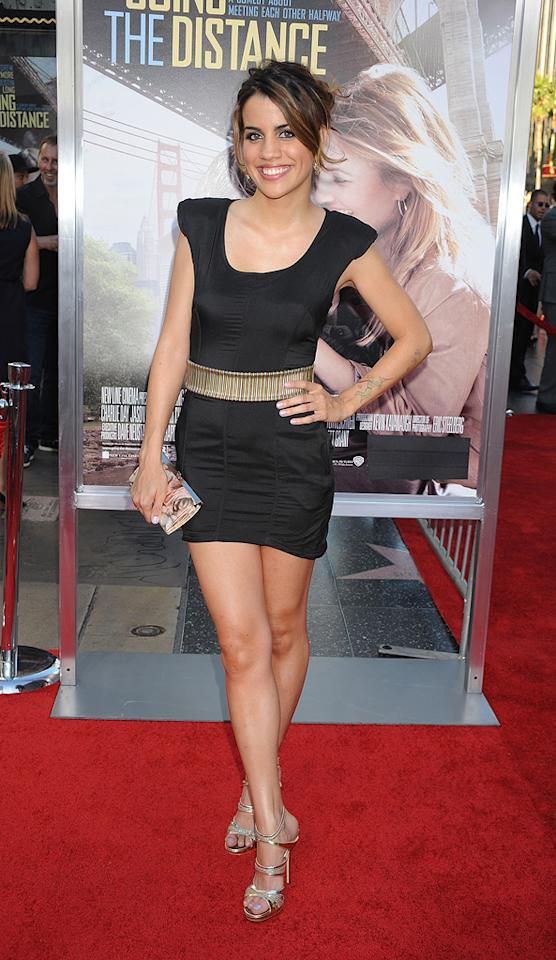 "<a href=""http://movies.yahoo.com/movie/contributor/1810173053"">Natalie Morales</a> at the Los Angeles premiere of <a href=""http://movies.yahoo.com/movie/1810105852/info"">Going the Distance</a> - 08/23/2010"