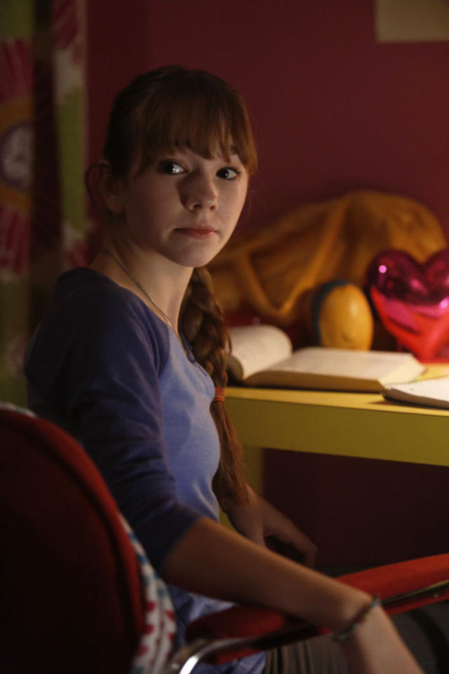 """The Clock"" -- Holly Taylor as Paige Jennings"