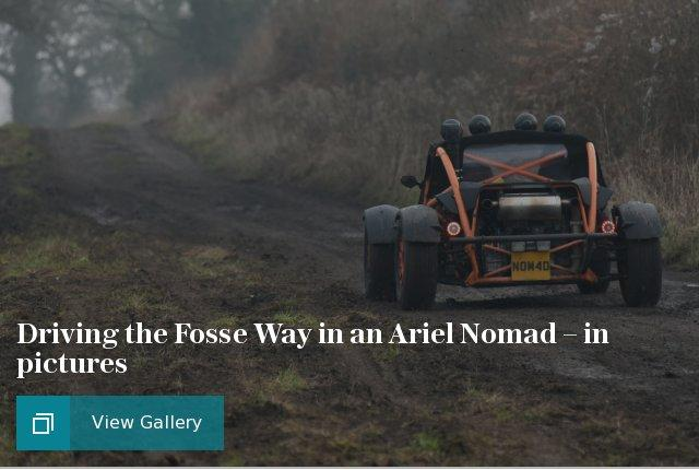 Ariel Nomad Fosse Way cars