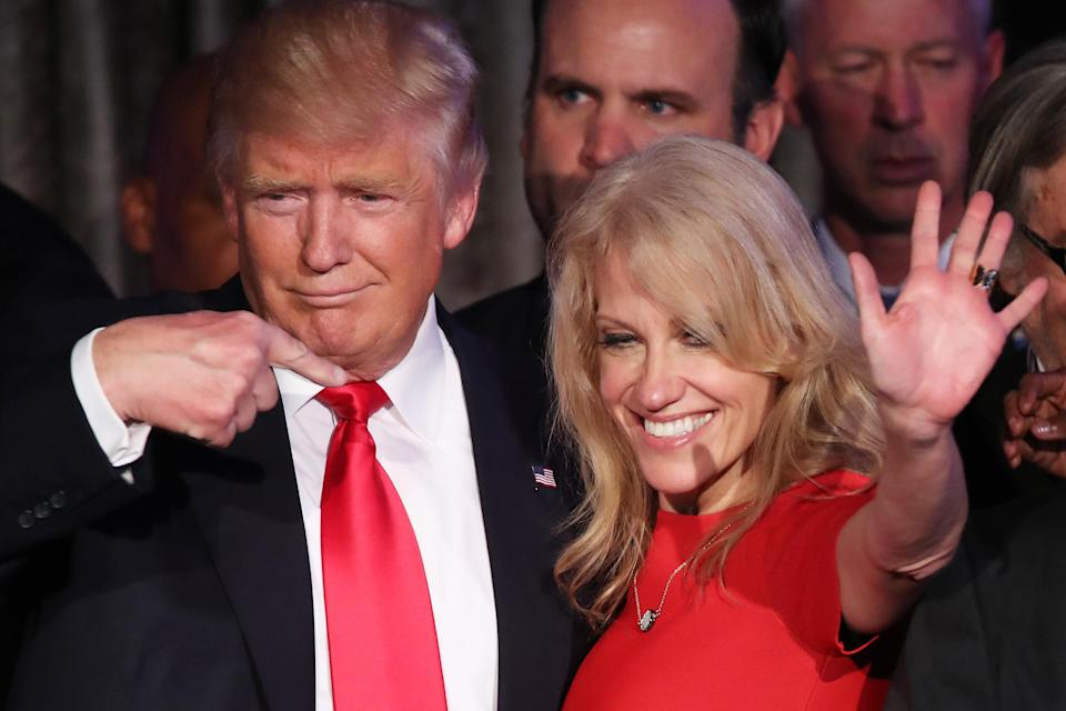 Kellyanne Conway to Hillary Clinton: 'Stop Pretending You're A Feminist' After Losing to Trump