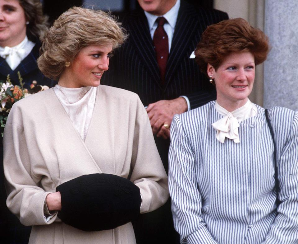 Princess Diana with her older sister Lady Sarah Mccorquodale in 1987 [Photo: Getty]