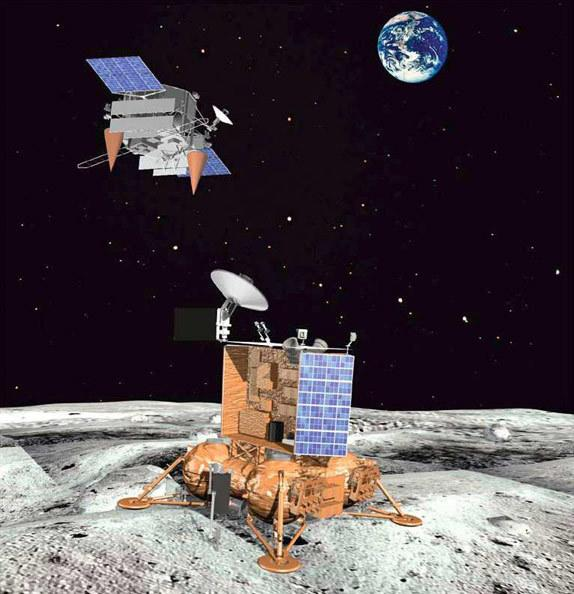 The Luna Glob orbiter and lander are on Russia's flight schedule for moon exploration between 2015 and 2020.