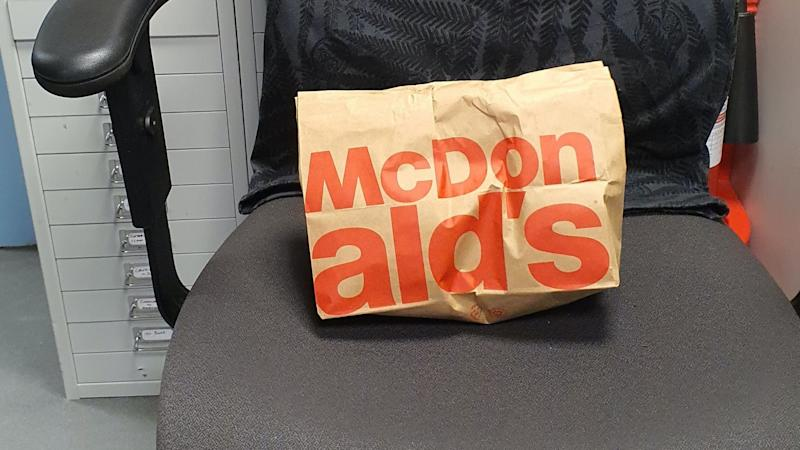 Officers buy McDonald's breakfast in tribute to fallen colleague