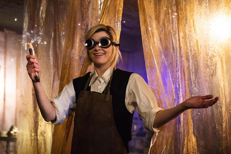 Jodie Whittaker as The Doctor in Doctor Who (BBC)