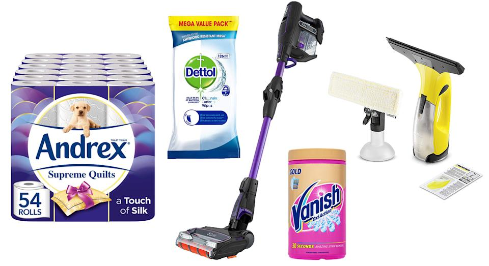 Amazon Prime members can shop great deals on numerous cleaning products until midnight on 16 July 2019