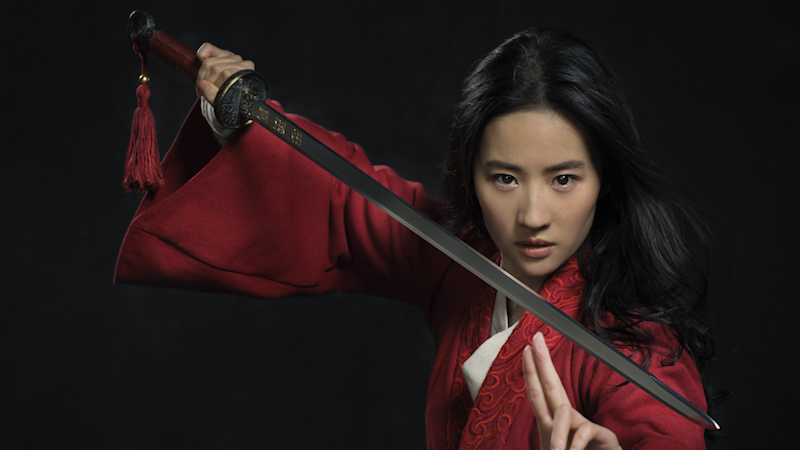 The live-action Mulan movie stars Chinese actor Lui Yifei (Credit: Disney)