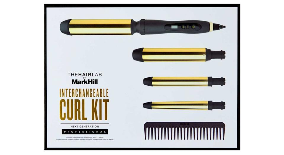The Hair Lab by Mark Hill Limited Edition Interchangeable Curl Kit