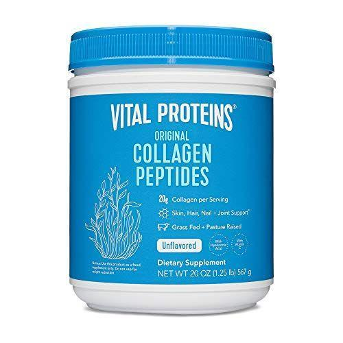 """<p><strong>Vital Proteins</strong></p><p>amazon.com</p><p><strong>$41.99</strong></p><p><a href=""""https://www.amazon.com/dp/B00K6JUG4K?tag=syn-yahoo-20&ascsubtag=%5Bartid%7C10056.g.36801416%5Bsrc%7Cyahoo-us"""" rel=""""nofollow noopener"""" target=""""_blank"""" data-ylk=""""slk:Shop Now"""" class=""""link rapid-noclick-resp"""">Shop Now</a></p><p>There's a reason this collagen peptides powder has over 100,000 five-star reviews (yes, you read that correctly). You've probably heard of the cult-favorite product, and if you haven't already tried it, now is your sign to finally snag one (or three) on sale today.</p>"""