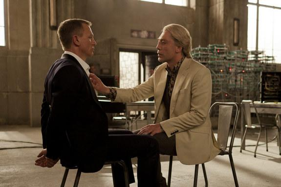 Raoul Silva, the main villain of 'Skyfall' played by Javier Bardem, sees the world as his Internet oyster.