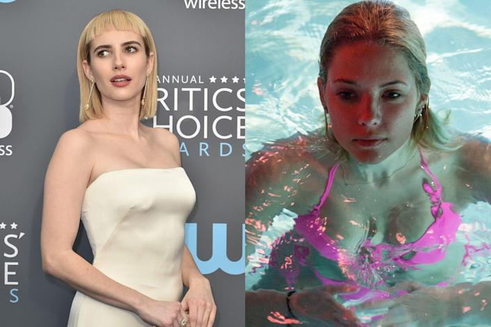 """<p><em>Scream Queens</em> star Emma Roberts was set to star as one of the main gals in <em>Spring Breakers</em> alongside Selena Gomez and Vanessa Hudgens. But she pulled out of the film, with director Harmony Korine chalking it up to """"creative differences."""" He <a href=""""https://nypost.com/2013/03/10/breaking-point-3/"""" rel=""""nofollow noopener"""" target=""""_blank"""" data-ylk=""""slk:told the New York Post"""" class=""""link rapid-noclick-resp"""">told the <em>New York Post</em></a>, """"I make a specific type of film, and it goes hard. It's not always for everyone."""" <em>Pretty Little Liars</em> star Ashley Benson replaced Roberts in the indie hit. </p>"""