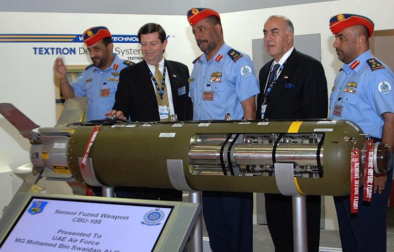 Textron will cease making sensor fuzed weapons, like the one pictured here in 2007, because of falling sales