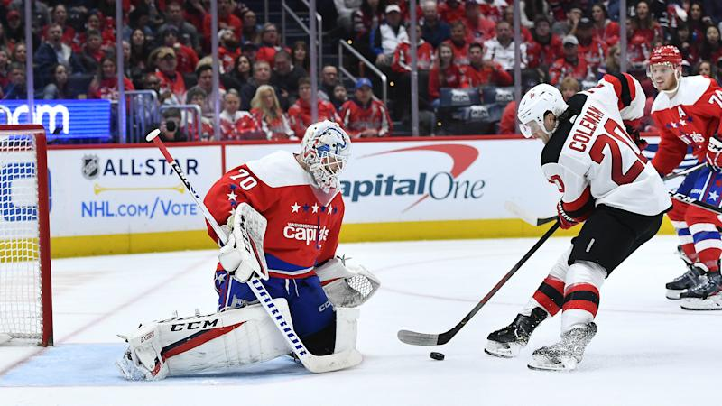 Caps  stunned by lowly Devils in blowout loss at home