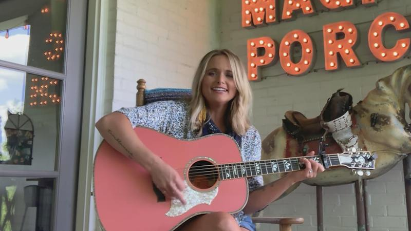 Miranda Lambert appears on 'CMT Celebrates Our Heroes'