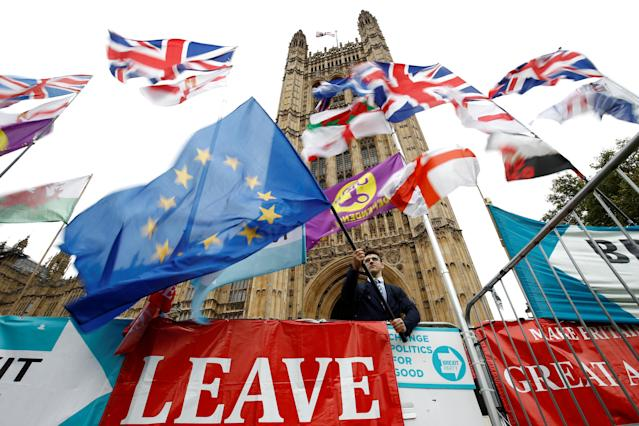 Remainers are more likely to row about Brexit than Leavers, a poll says (Picture: Reuters)